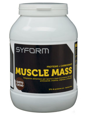 Syform Muscle Mass flacone 1200g