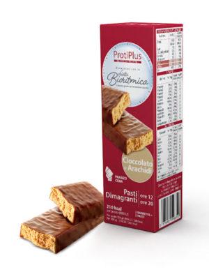 ProtiPlus Pasti Dimagranti cioccolato e arachidi
