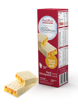 ProtiPlus Pasti Dimagranti yogurt e frutti gialli