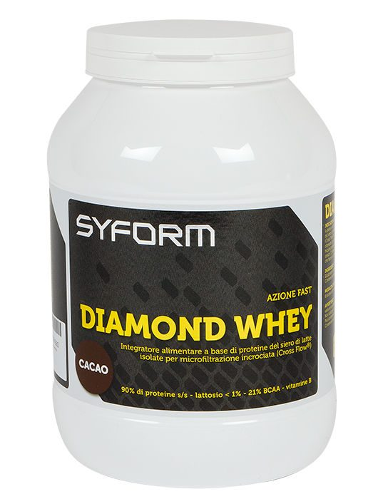 Syform Diamond whey: proteine siero del latte