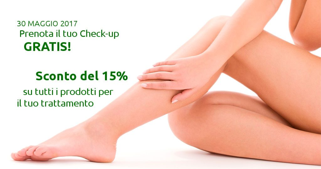 Gambe gonfie? Check-up Gratuito