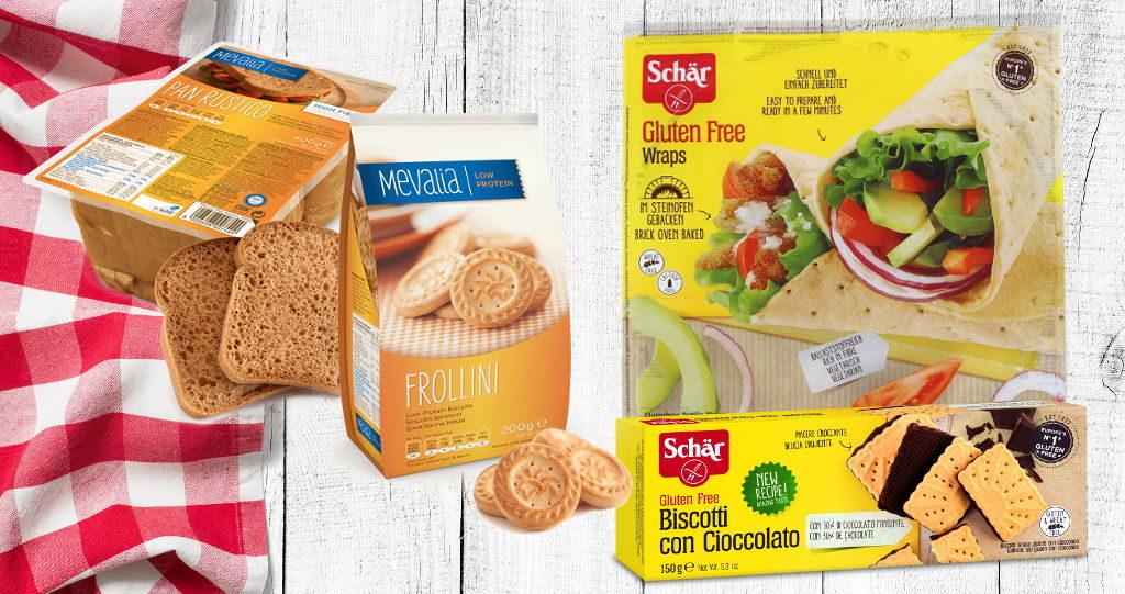 Nuovi arrivi – alimenti aproteici e senza glutine