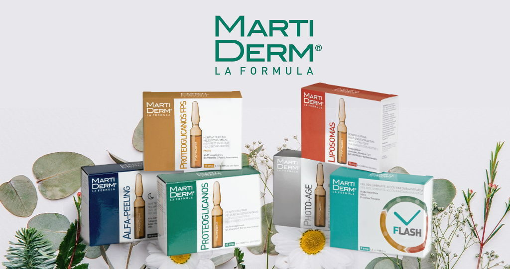 MartiDerm fiale e patches anti-aging