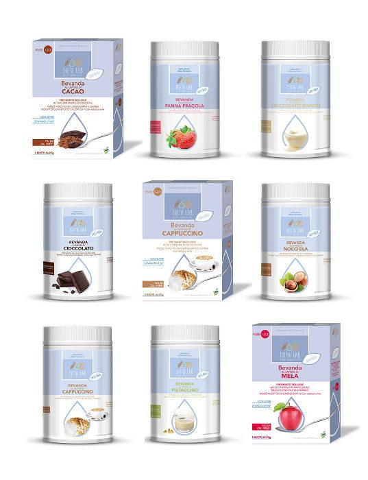 Preparati per bevande Dietalab - solubili e proteici
