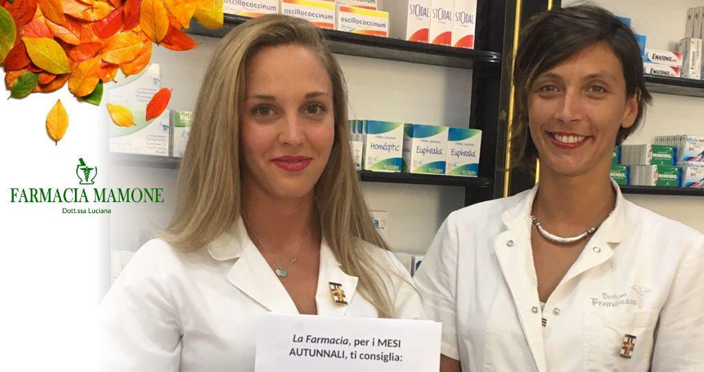 Arriva l'autunno… prodotti galenici Farmacia Mamone